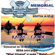 "Memorial ""STEFAN HEDER & VICTOR ALEXANDRESCU"" Timisoara 22-23 aprilie 2016"